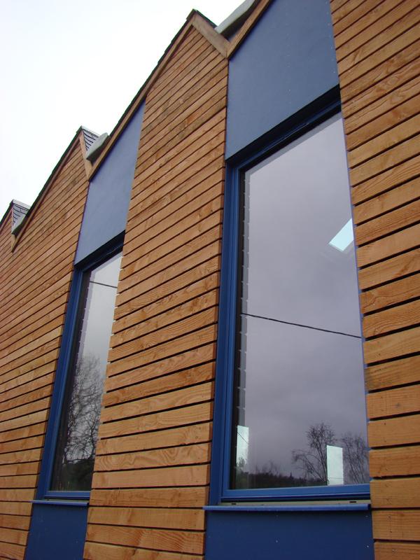 Exemples de r alisations de maison bois maisoneco - Rouge de falun ...