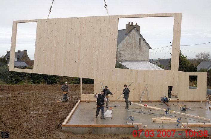 29 maison en panneaux klh bois en panneau massif for Construction villa prix