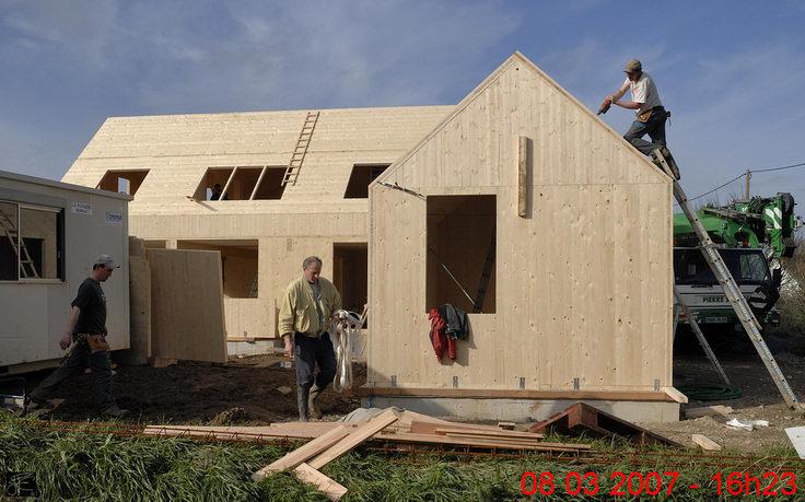 Maison Panneau Bois Klh Segu Maison # Maison Panneau Bois
